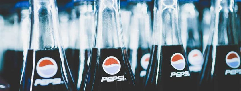 photo of cold drinks in case
